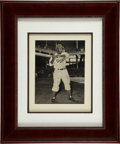 Autographs:Photos, 1950's Jackie Robinson Signed Photograph....