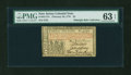 Colonial Notes:New Jersey, New Jersey February 20, 1776 £3 John Hart PMG Choice Uncirculated 63 EPQ....