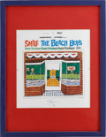 Music Memorabilia:Memorabilia, Beach Boys Smile Limited Edition 1978 Cover Art....