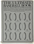 "Autographs:Others, ""The Ultimate Baseball Book"", Signed by 113. ..."