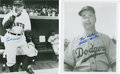 Autographs:Photos, Baseball Hall of Fame Managers Signed Photographs Pair. ... (Total:2 items)