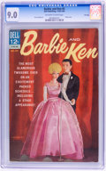 Silver Age (1956-1969):Miscellaneous, Barbie and Ken #5 File Copy (Dell, 1964) CGC VF/NM 9.0 Off-white towhite pages....