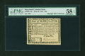 Colonial Notes:Maryland, Maryland June 28, 1780 $20 PMG Choice About Unc 58 EPQ....