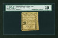 Colonial Notes:Massachusetts, Massachusetts 1779 1s PMG Very Fine 20....
