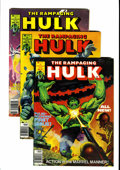 Magazines:Superhero, The Rampaging Hulk/The Hulk Magazine Group (Marvel, 1977-81)Condition: Average VF+.... (Total: 27 Comic Books)