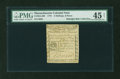 Colonial Notes:Massachusetts, Massachusetts 1779 2s6d PMG Choice Extremely Fine 45 NET....