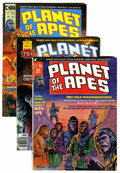 Magazines:Science-Fiction, Planet of the Apes Magazine #1-29 Group (Marvel, 1974-76) Condition: Average VF.... (Total: 29 Comic Books)