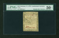 Colonial Notes:Continental Congress Issues, Continental Currency February 17, 1776 $2/3 PMG About Uncirculated 50 EPQ....