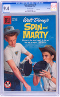 Silver Age (1956-1969):Adventure, Spin and Marty #9 File Copy (Dell, 1959) CGC NM 9.4 Off-white pages....