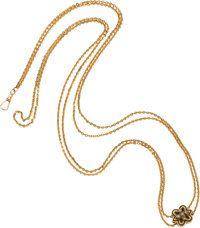 Lady's Gold Slide Chain, circa 1885