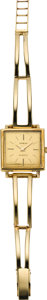 Timepieces:Wristwatch, Geneva Gold Bracelet Wristwatch, circa 1950's. ...