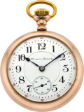 Timepieces:Pocket (pre 1900) , Hampden 23 Jewel Special Railway, circa 1899. ...