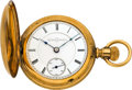 Timepieces:Pocket (pre 1900) , Illinois Transitional With Chalmers Patent Regulator, circa 1887....