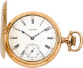 Timepieces:Pocket (post 1900), E. Howard Watch Co. 16 Size Gent's Hunter Case, circa 1905. ...