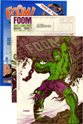 Magazines:Superhero, Foom Group (Marvel, 1973-79) Condition: Average VF+.... (Total: 18Comic Books)