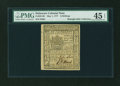 Colonial Notes:Delaware, Delaware May 1, 1777 6s PMG Choice Extremely Fine 45 EPQ....