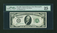 Fr. 2000-I* $10 1928 Federal Reserve Note. PMG Very Fine 25