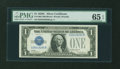 Small Size:Silver Certificates, Fr. 1603 $1 1928C Silver Certificate. PMG Gem Uncirculated 65 EPQ.. ...