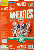 Basketball Collectibles:Others, Bob Cousy Signed Wheaties Box. ...