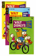 Bronze Age (1970-1979):Cartoon Character, Walt Disney's Comics and Stories File Copies Group (Gold Key, 1970-74) Condition: Average NM/MT.... (Total: 11 Comic Books)