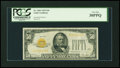 Small Size:Gold Certificates, Fr. 2404 $50 1928 Gold Certificate. PCGS Very Fine 30PPQ.. ...