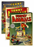 Golden Age (1938-1955):Funny Animal, Fawcett's Funny Animals Group (Fawcett, 1943-55).... (Total: 18Comic Books)