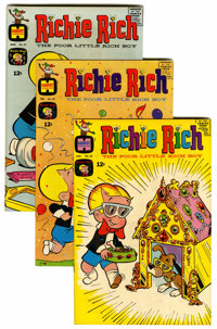 Richie Rich File Copy Short Box Group (Harvey, 1968-) Condition: Average VF/NM