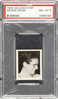 Basketball Cards:Singles (Pre-1970), 1948 Kellogg's Pep George Mikan PSA NM-MT 8....