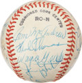 Autographs:Baseballs, New York Mets Oldtimers Multi-Signed Baseball. ...