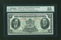 Canadian Currency: , Montreal, PQ- The Royal Bank of Canada $5 Jan. 3, 1927 Ch. 630-14-04 . ...
