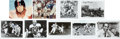 Football Collectibles:Photos, Football Stars Signed Photographs Lot of 36. ...