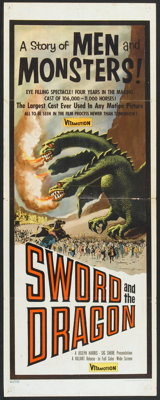 """Sword and the Dragon Lot (Valiant Films, 1960). Inserts (2) (14"""" X 36""""). Fantasy. ... (Total: 2 Items)"""