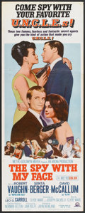 """Movie Posters:Action, The Spy With My Face (MGM, 1966). Insert (14"""" X 36""""). Action.. ..."""