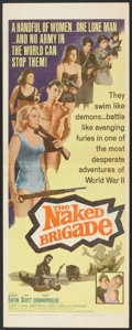 "Movie Posters:War, The Naked Brigade (Universal, 1965). Insert (14"" X 36""). War.. ..."