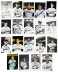 Autographs:Others, Detroit Tigers Signed Images Lot of 71. ...