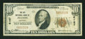 National Bank Notes:Kentucky, Fulton, KY - $10 1929 Ty. 1 The City NB Ch. # 6167. ...