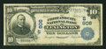 National Bank Notes:Kentucky, Lexington, KY - $10 1902 Plain Back Fr. 630 The Lexington City NBCh. # (S)906. ...