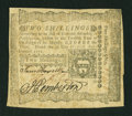 Colonial Notes:Pennsylvania, Pennsylvania April 3, 1772 2s Extremely Fine....