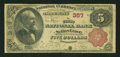 National Bank Notes:Pennsylvania, Selins Grove, PA - $5 1882 Brown Back Fr. 466 The First NB Ch. #357. ...