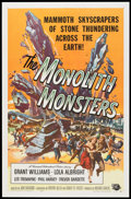 """Movie Posters:Science Fiction, The Monolith Monsters (Universal International, 1957). One Sheet (27"""" X 41""""). Science Fiction.. ..."""
