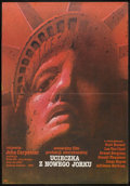 """Movie Posters:Action, Escape from New York (Avco Embassy, 1983). Polish B1(26.5"""" x 38""""). Action.. ..."""