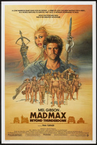 "Mad Max Beyond Thunderdome (Warner Brothers, 1985). One Sheet (27"" X 41""). Science Fiction"
