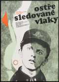 """Movie Posters:Comedy, Closely Watched Trains (Sigma III Corp., 1966). Polish One Sheet (23.5"""" X 33""""). Comedy.. ..."""
