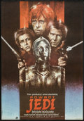 "Movie Posters:Science Fiction, Return of the Jedi (20th Century Fox, 1984). Polish B1 (26"" x 38"").Science Fiction.. ..."