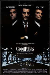 """Goodfellas (Warner Brothers, 1990). One Sheet (27"""" X 40.5"""") DS. Crime"""