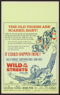 "Wild in the Streets (American International, 1968). Benton Window Card (14"" X 22""). Comedy"