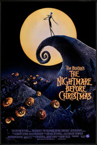 """The Nightmare Before Christmas (Touchstone, 1993). One Sheet (27"""" X 40"""") DS . Fantasy"""