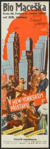 "Movie Posters:Crime, Dead End (United Artists, 1937). Czechoslovakian Poster (12"" X37""). Crime.. ..."