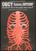 "Movie Posters:Science Fiction, Alien (20th Century Fox, 1981). Polish B1 (26"" x 37""). Science Fiction.. ..."