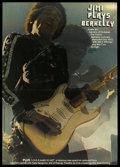 "Movie Posters:Rock and Roll, Jimi Plays Berkeley (New Line, 1973). College Poster (11"" X 15.5"").Rock and Roll.. ..."
